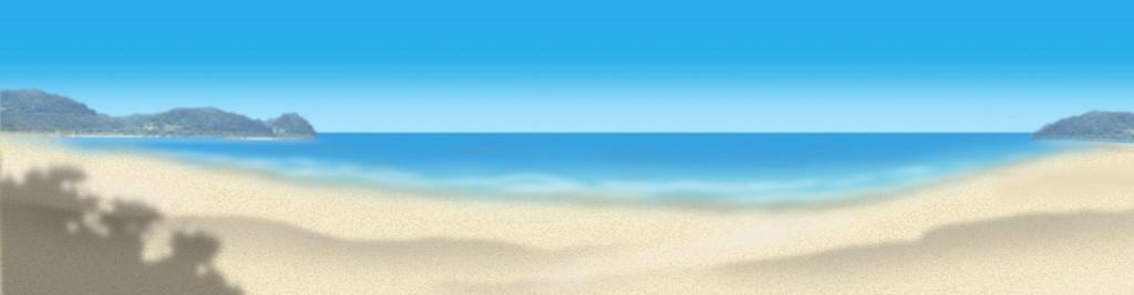 T02_003_001G(夏の海岸砂浜)